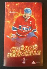 Montreal Canadiens 2017 2018 Hockey pocket schedule