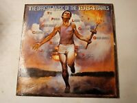 The Official Music Of The 1984 Games - Vinyl LP 1984