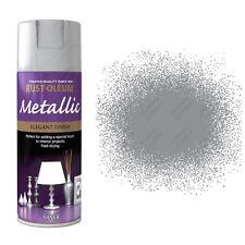 x 10 Rust-Oleum multiusos PREMIUM pintura en aerosol interior y plateado