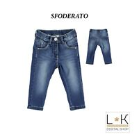 Jeans in Caldo Cotone Denim Bambina Sarabanda N852