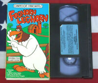Foghorn Leghorn VHS Looney Tunes Cartoon Video Tape Vintage Animated Rare