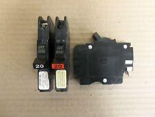FPE AMERICAN CHALLENGER NC120 1 Pole 20 Amp 120/240V  RED/BLACK