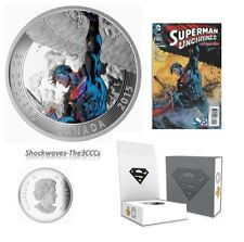 2015 Silver Iconic Comic Book Covers Superman Unchained #2 ( 2013) Coin & Comic