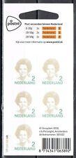 Nederland V2731 Beatrix 2010 vel klasse 2 PostNl logo cat waarde € 17