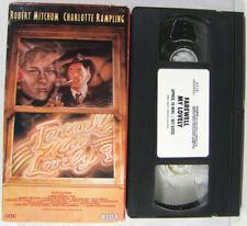 Farewell My Lovely CULT Classic NOIR VHS 1975 Raymond Chandler Robert Mitchum VG