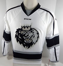 Manchester Monarchs Blank Authentic Replica White Jersey Small