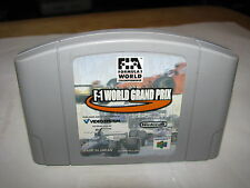F1 World Grand Prix Nintendo 64 N64 Japan import