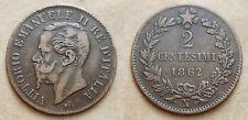 1862  Regno D'Italia  2 centesimi  Napoli