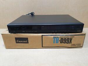 Vintage Sansui TU-D99X Synthesiser Tuner Boxed