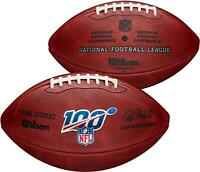 "Wilson NFL 100 ""The Duke"" Official NFL Leather Football - Fanatics"