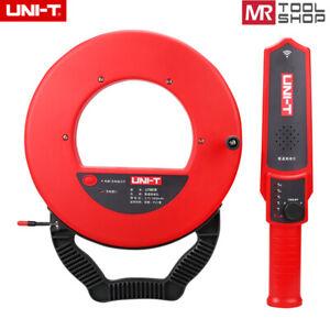 UNI-T UT661B Wall PVC Iron Pipe Blockage Detector Diagnostic-Tool Pipeline 30M L