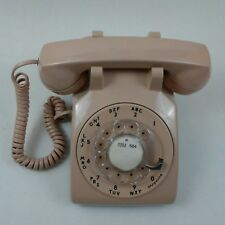 Vintage 500DM Rotary Telephone Classic Beige Western Electric Bell System