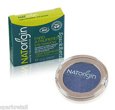NATOrigin Organic Pressed Powder EYE SHADOW Shimmer Eyeshadow 81 MAUVE 2.5g