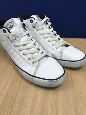 Mens Adidas White High Tops - Good Condition Uk Size 11
