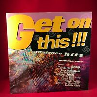 VARIOUS Get On This!!! Volume One - 1990 UK Double Vinyl LP EXCELLENT CONDITION