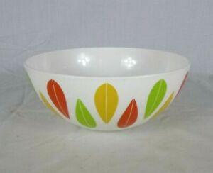 """Dansk THE BURBS Melamine Multi Color Lotus Leaf Serving Bowl RETIRED HTF!!  9.5"""""""