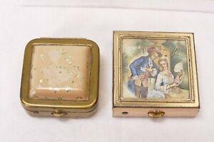 2 Vintage Pill Boxes