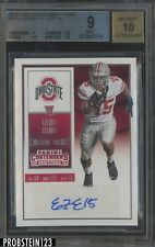 2016 Contenders College Ticket Ezekiel Elliott Cowboys RC AUTO BGS 9