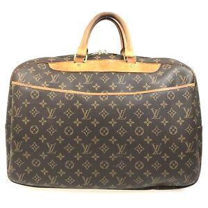 100% authentic Louis Vuitton Monogram Alize 24 Heures M41399 [Used] {05-0430}