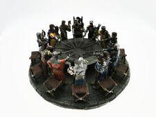 Tavola rotonda Cavalieri in Resina diametro 47 cm