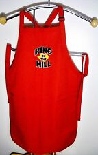 "1990's Singular Mint FOX ""TM"" Trademark Promotional King of the Hill Grill Apron"