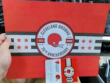 NFL cleveland browns 2021 training camp collectors schedule  8 by 10 and small