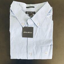 Eddie Bauer Classic Fit Long Sleeve Shirt Blue XL NWT