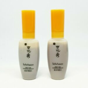 Sulwhasoo First Care Activating Serum EX 8ml x 2pcs Mini Travel Essence K-Beauty