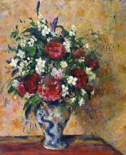 Camille Pissarro Still Life With Peonies And Mock Orange Painting CANVAS Print S
