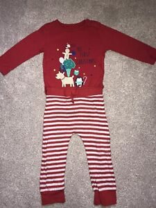 Baby My First Christmas Pyjamas Age 9-12 Months