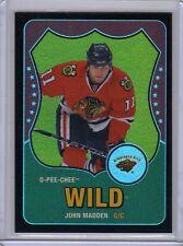 JOHN MADDEN 10/11 OPC Retro Rainbow BLACK #27 /100 O-Pee-Chee Hockey Card