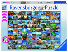 99 Beautiful Places on Earth 1000 Piece Ravensburger Jigsaw