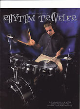 VINTAGE MUSICAL INSTRUMENT CATALOG #10600 - 1999  PEARL DRUMS - RHYTHM TRAVELER