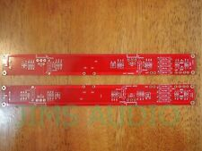 Mosfet pure class A amplifier thick copper huge long stereo PCB !