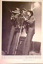1967 Beatles Rock~Roll Music Vox Guitars~Amplifiers~Organ Paul~George Photo AD