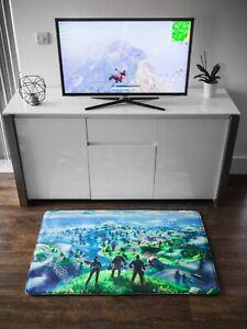 Fortnite Map Gaming Bedroom Rug/Mat