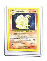 NINETALES - 12/102 - Base Set - Holo - Pokemon Card - EXC/NEAR MINT