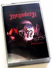 MEGADETH KILLING IS MY BUSINESS THE FIRST ALBUM RARE CASSETTE TAPE MC K7 1985