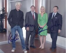 KEITH MORRISON DENNIS MURPHY ANDREA CANNING JOSH MANKIEWICZ signed photo RARE