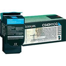 ORIGINAL Lexmark Cartouche d'encre c540h1cg cyan pour C540 C543 C544 X543 X544