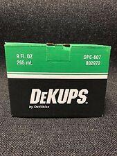 DeVilbiss 802972 DPC-607 DeKups Reusable Sleeve & Lid for 9 oz. Cups (DPC-607)
