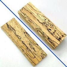 1pc* Blank Fungus Stripe Maple Wood Plank Board Plate Slab For Knife Handle Hilt