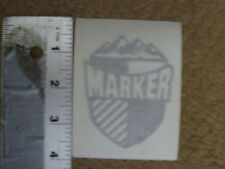 MARKER Winter Sports Decals & Stickers