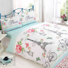 Cotton Blend Floral Fitted Sheet Bedding Sets & Duvet Covers