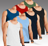 3 X MEN'S VEST 100% COTTON TANK TOP SUMMER TRAINING GYM TOPS PACK 3 COLOURS NEW