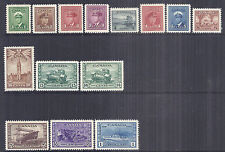 1942-1943 Canada 216-229 249-262 375-388 KGVI Complete Set of 14 XF Choice MNH*