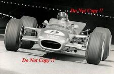 Graham Hill Gold Leaf Team Lotus 49B Winner Monaco Grand Prix 1968 Photograph 18