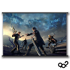 Final Fantasy XV All Group Noctis Lucis Caelum Poster Wall Scroll 40*60 cm