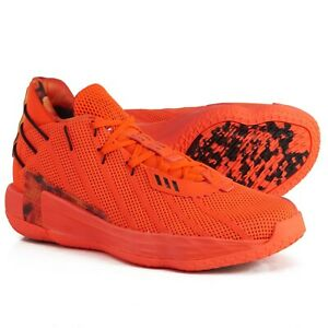 ADIDAS Dame 7 Fire Of Greatness Basketball Shoes Mens Size 14 Orange #FX7439
