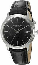 Raymond Weil Men's Maestro Automatic Black Dial Watch 2237-STC-20001 NEW